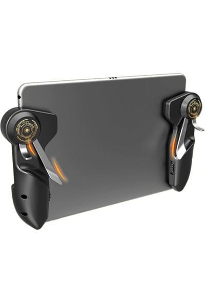 Kamardey Pubg Mobile Oyun Konsolu Ipad Tablet Için 6 Parmak Tetik Pubg Mobile Joystick