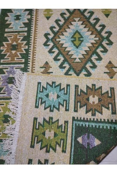 Başaran Tekstil Makine Dokuması, Püsküllü 6 Metrekare Uşak Antik Kilimi,
