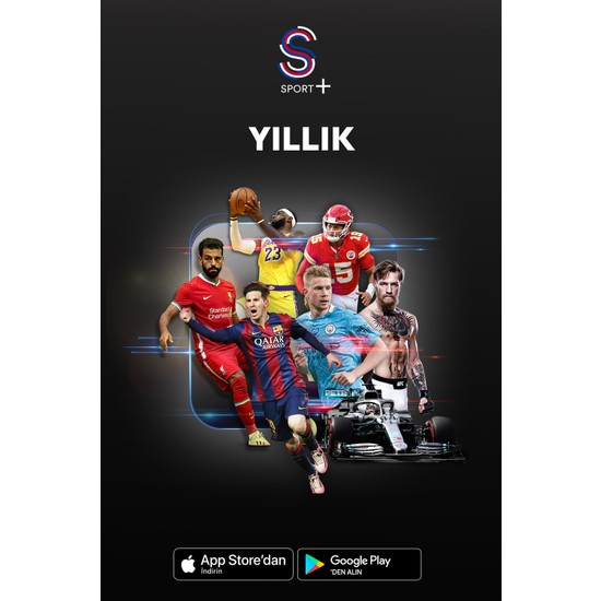 S Sport Plus 1 Yıllık Paket