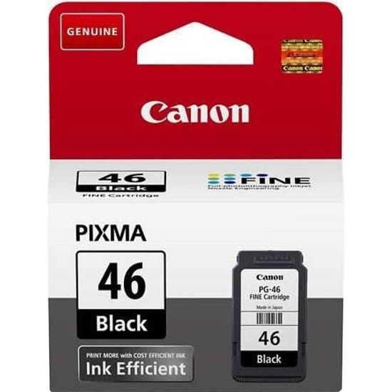 Canon PG-46 Orijinal Siyah Mürekkep Kartuşu
