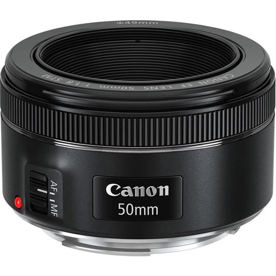 Canon EF 50mm f/1.8 STM Lens (Canon Eurasia Garantili)