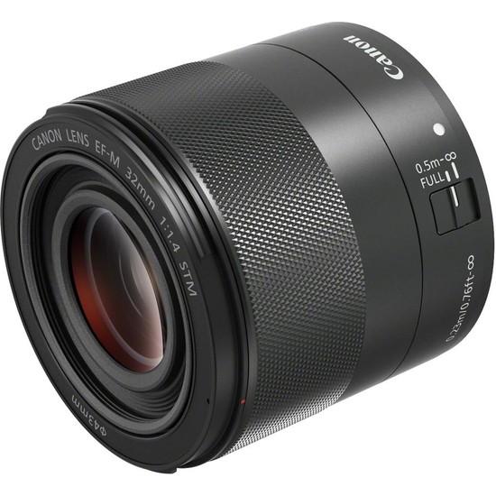 Canon EF-M 32mm f/1.4 STM Lens (Canon Eurasia Garantili)