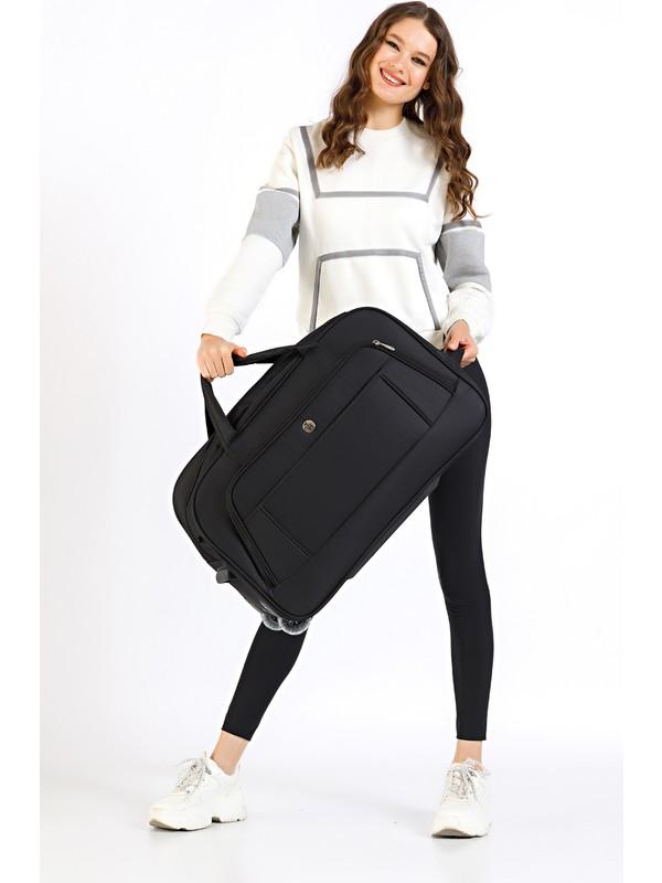 Th Bags Kadın Valiz TH200570 Siyah