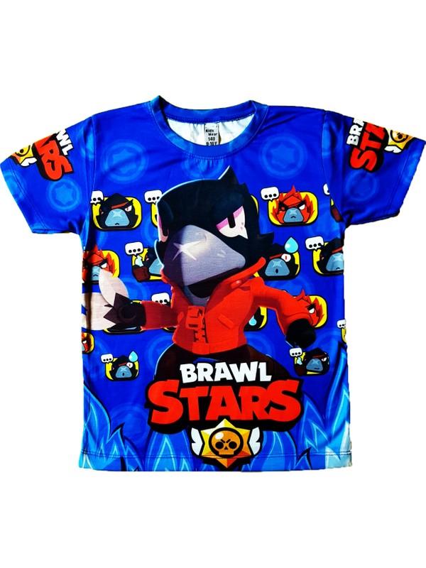 Brawl Stars Crow Baskılı Tişört