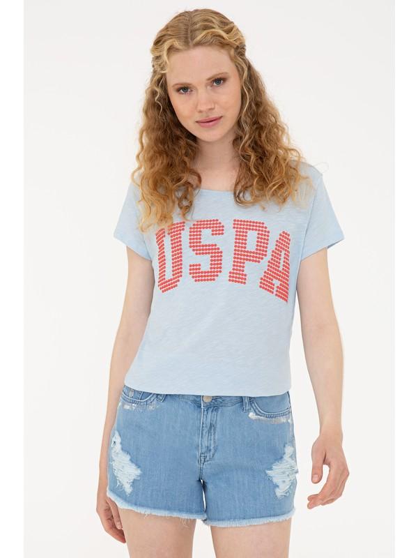 U.S. Polo Assn. Mavi T-Shirt 50238124-VR003