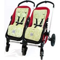 Itzy Ritzy Stroller Lineravocado Damask