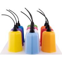 Thorqtech Plastik Ağaç Feneri Karışık Renkli 10'lu