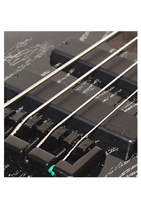 Bas Gitar 4 Telli, Egzotik Siyah, Bartolını Mk-1 P