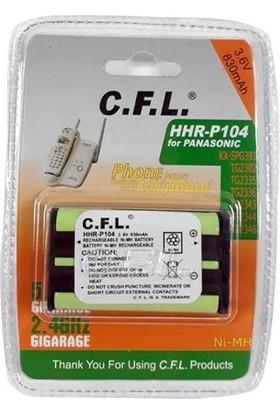CFL Telsiz Telefon Pili Panasonıc P104 3.6V Ni-Mh 830MA Cfl