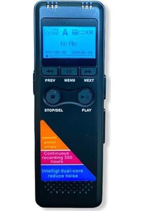 Kingboss 8 GB +60 Saat Dijital Ses Kayıt Cihazı