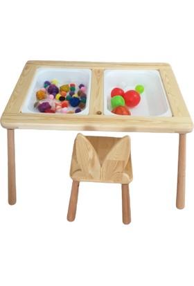 Renkli Tahtalar Montessori Aktivite Masası