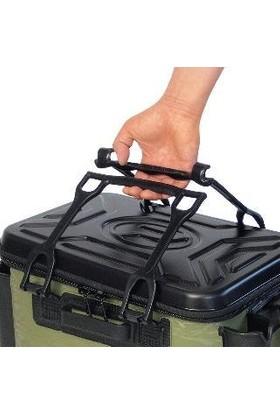 PROX Eva Tackle Bakkan With Rod Holder Siyah Malzeme Çantası 40CM