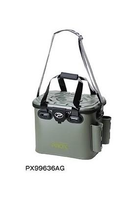 PROX Eva Tackle Bag With Rod Holder Yeşil Malzeme Çantası 36 cm