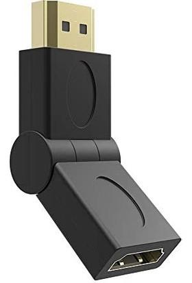 Tigdes HDMI 90° Dönüştürücü Dirsek - HDMI Erkek - HDMI Dişi