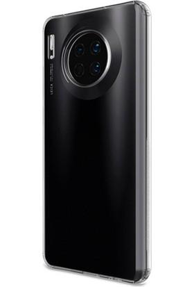 Ssmobil Huawei Mate 30 Pro Kamera Korumalı Ultra Slim Soft Silikon Kılıf