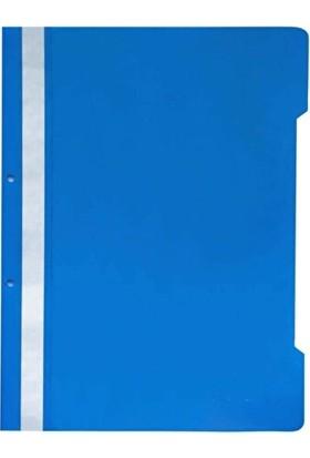 Umix A4 Telli Dosya 50'li Mavi 4'lü Paket 200 Adet