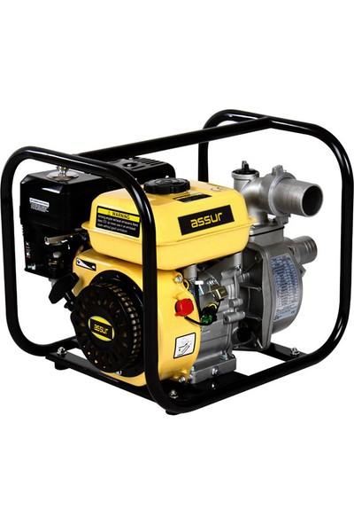 Assur Pro Wp-30 9 Hp Turbo Benzinli Su Motoru Propomp 3 Parmak Profesyonel Kullanım