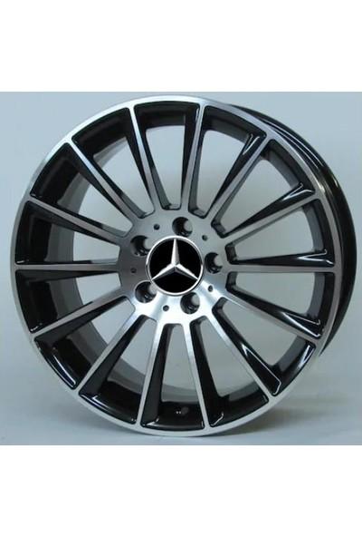 Ats 9X19'' Dedikady-139 5X112 Et48 66.6 Black Machıned XL Mercedes Jant Takımı