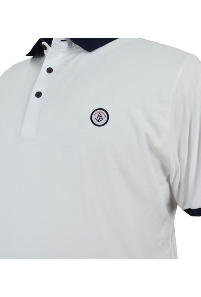 Rugatchi Büyük Beden Erkek Tişört Likralı Pike Polo Yaka