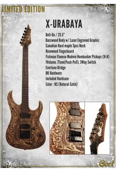 Cort X-Urabaya Ns Elektro Gitar Çantalı
