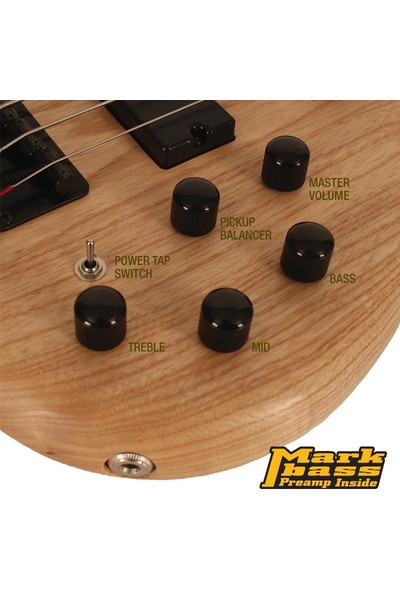 Cort AB4DLX As Opn Bas Gitar Action Delux
