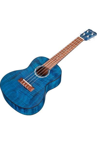 Cordoba 15CFM Concert Ukulele (Sapphire Blue)