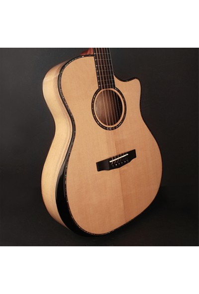 Cort Ga-My Bevel Nat Elektro Akustik Gitar