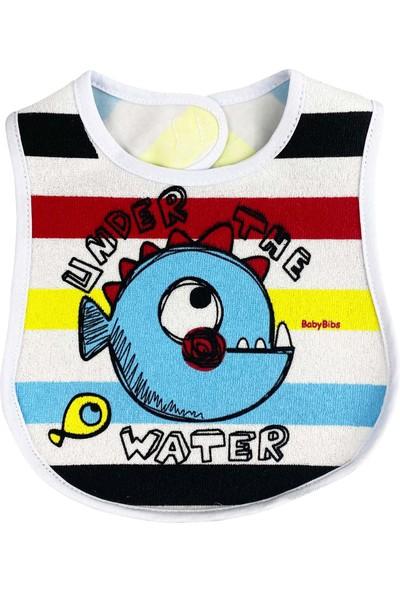 Baby Bibs Balıklı Bebek Mama Önlüğü
