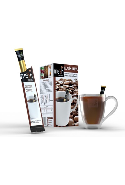 Mesh Stick Klasik Kahve