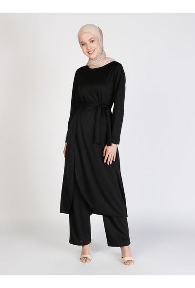 Ecesun Tunik&pantolon Ikili Takım - Siyah - Ecesun