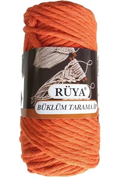 Rüya 3.5-4 mm Tarama Ipi Turuncu Renk No:2