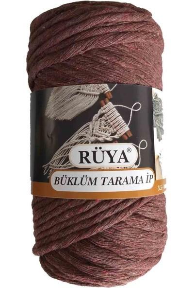 Rüya 3.5-4 mm Tarama Ipi Koyu Kahve No:6