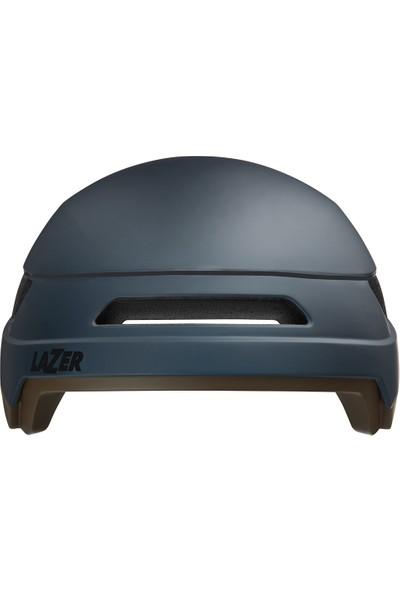 Lazer Urbanize Ebike Kask Mat Koyu Mavi Medium Kask + LED