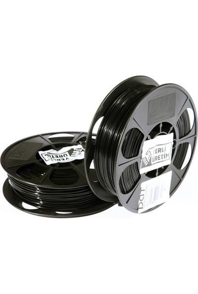 Dat Plastik Yerli Üretim Pla 3D Filament Siyah 1.75MM