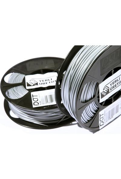 Dat Plastik Yerli Üretim Pla 3D Filament Gri 2.85MM