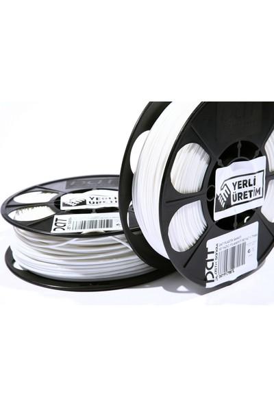 Dat Plastik Yerli Üretim Pla 3D Filament Beyaz 1.75MM