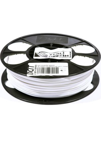 Dat Plastik Yerli Üretim Pla 3D Filament Beyaz 2.85MM