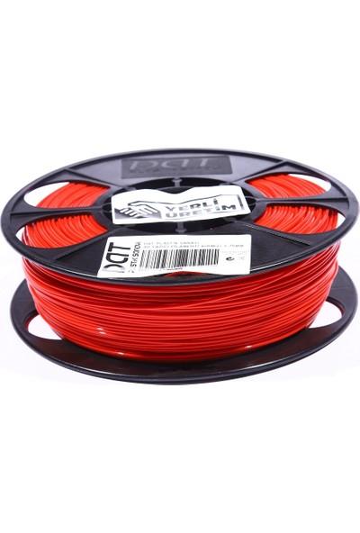 Dat Plastik Yerli Üretim Pla 3D Filament Kırmızı 1.75MM