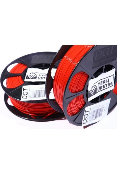 Dat Plastik Yerli Üretim Pla 3D Filament Kırmızı 2.85MM