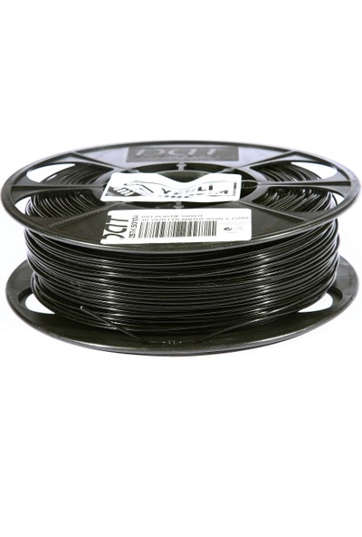 Dat Plastik Yerli Üretim Pla 3D Filament Siyah 2.85MM