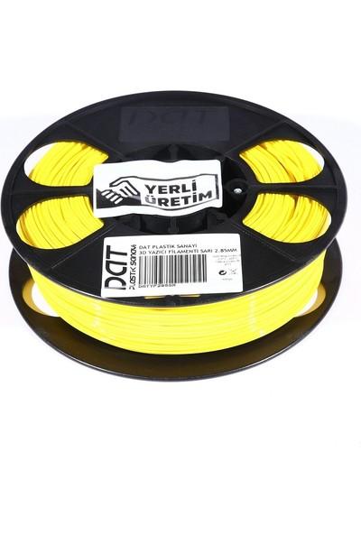 Dat Plastik Yerli Üretim Pla 3D Filament Sarı 2.85MM