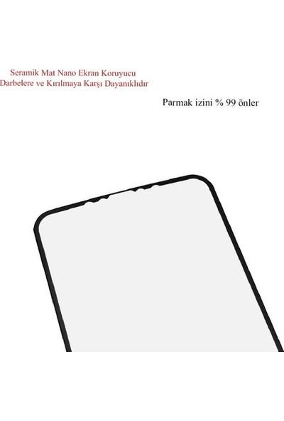 Semers iPhone 11 Pro / x / Xs Ekran Koruyucu Mat Seramik Nano 9d Tam Kaplama