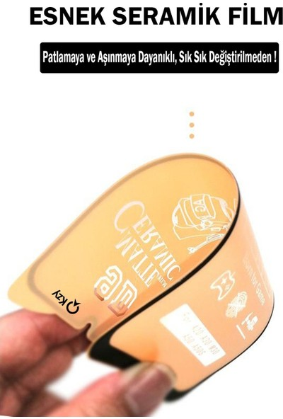 Semers Huawei P Smart 2021 Mat Seramik Nano Tam Kaplayan Ekran Koruyucu