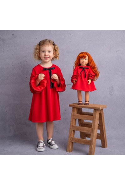 Isabel Bebeğim ve Ben Elbise / Kırmızı