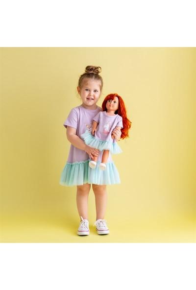 Isabel Bebeğim ve Ben Elbise / Lila Unicorn
