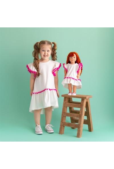Isabel Bebeğim ve Ben Elbise / Ekru Pommy