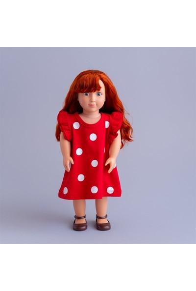 Isabel Bebeğim ve Ben Elbise / Kırmızı Ponte