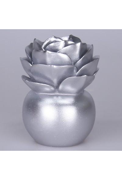 Selim Lilacina Dekoratif Aksesuar Gümüş