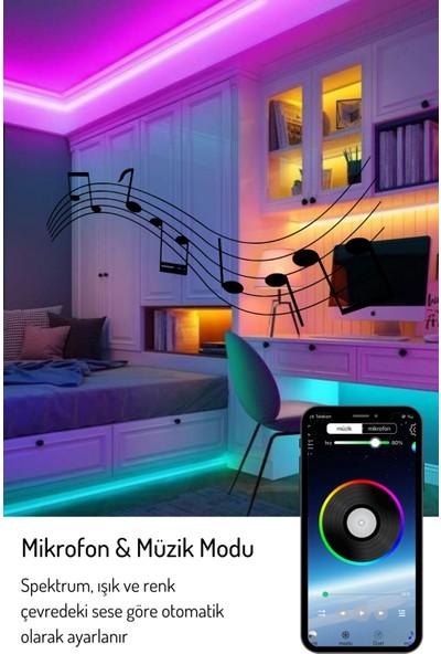 Vista Rgb Bluetooth 16 Milyon Renkli Şerit LED 2 Metre App Kontrol