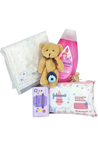 Ambalajist Bebek Kutusu Pembe Sevimli Bebekler 2 No Yeni Doğan Hediyelik Ürünler